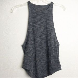 Lululemon Grey Muscle Workout Tank Top